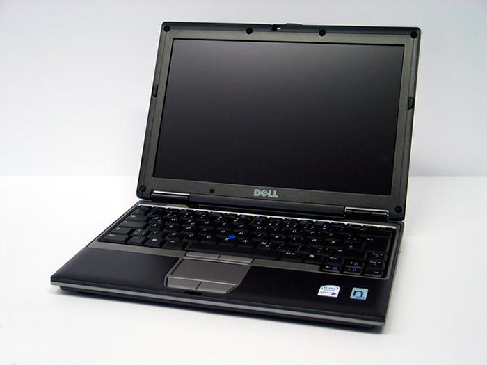 Ноутбук бу12,1″ Dell D420 Core2 Duo- 1,67ггц/ОЗУ 2,5GB/HDD 60GB/Intel GMA-256mb/WiFi/АКБ 1,5часа