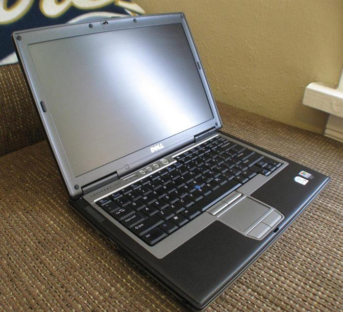 Ноутбук бу 14,1″ Dell D620 Core2Duo T7200-2.0ггц