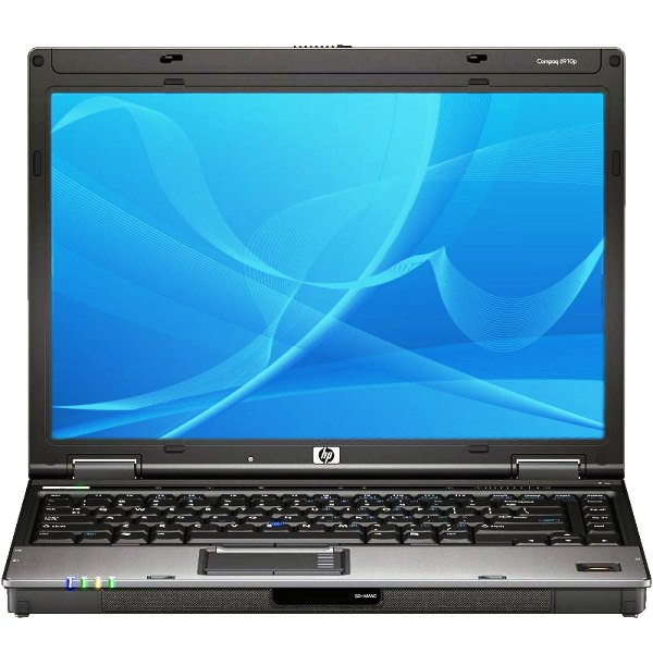 Ноутбук бу 14,1″ HP Compaq 6910 Intel Core 2Duo T7500-2.2ггц/2Гб/HDD 80Гб/ATI Radeon х2300/DVD-RW/Wi Fi/АКБ 2 Часа