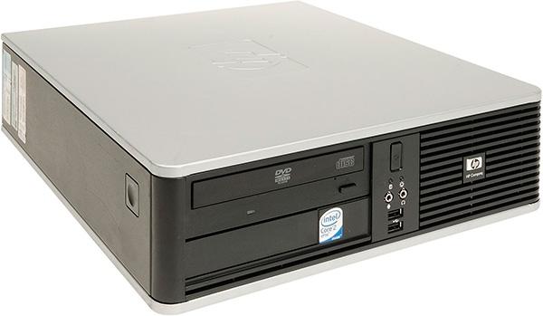 HP Compaq DC7800 Slim Intel Core2Duo E6500 (E6750)-2.93ггц/2GB/HDD 80GB/Intel GMA4500-780mb/DVD-RW
