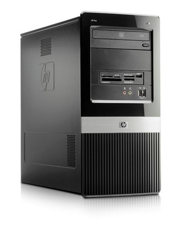 бу компьютеры HP Compaq DX2400 MicroTower Intel Xeon E5335-2.0ггц 4 ядра /4GB/HDD 250GB
