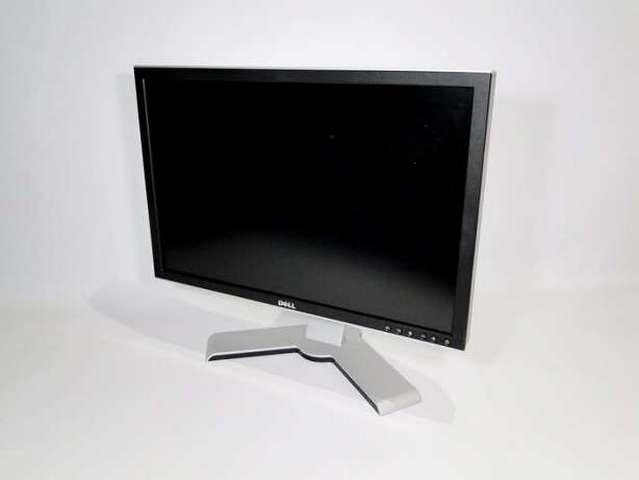 Монитор бу 24″ Dell 2408W, S-PVA, Разрешение 1920×1200 (16:10), Время отклика 6 мс, Кардридер, USB-хаб