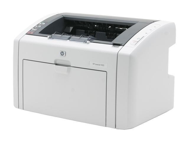 Принтер лазерный HP LJ 1022 A4/ 1200 dpi/черно белый/ не чипованный