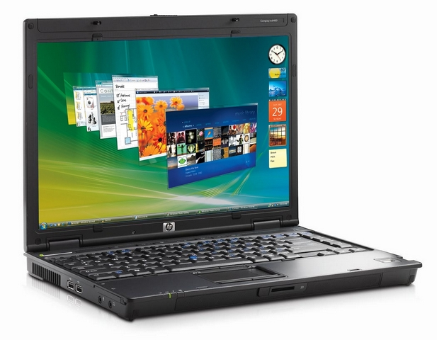 Ноутбук бу 15,4″ HP Compaq nx7400 Core2Duo T5600- 1,83ггц/2ГБ/160GB/GMA950-256mb/DVD-RW/WiFi/АКБ 5 мин