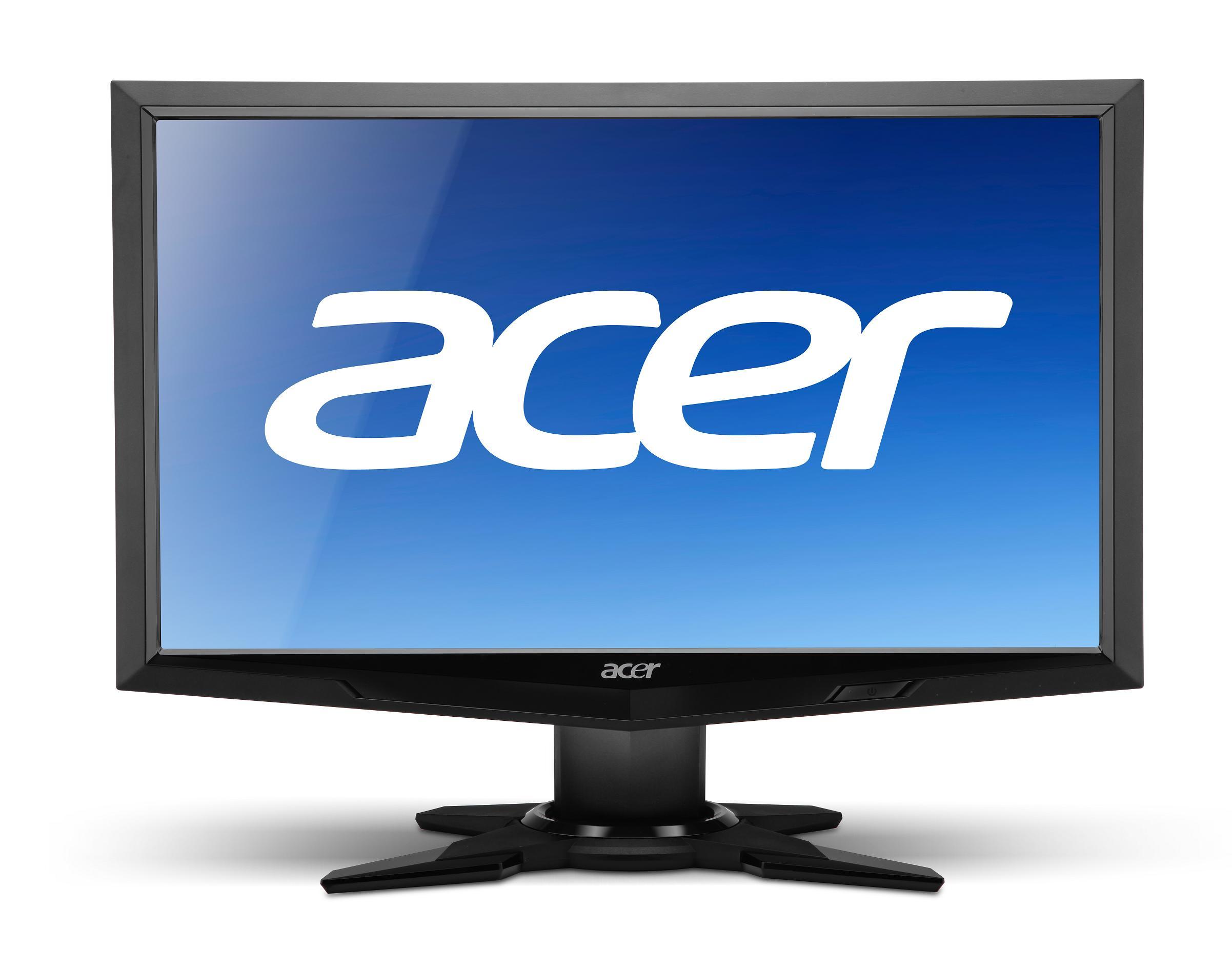 Монитор бу 20″ Acer G205HV TFT TN,1600×900 (16:9), Подключение: VGA, DVI