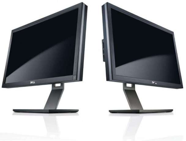 Монитор бу 22″ Dell P2210, Тип матрицы экрана: TN+film, Разрешение: 1680×1050 (16:10), USB-хаб