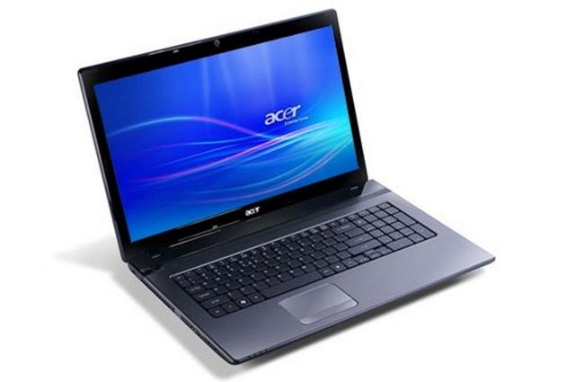 Ноутбук Б/У 15,6″ Acer Aspire 5749 Core i3 M2330-2,2мгц/DDR3-4гб/HDD320 гб/Intel G3000-1Gb/DVD-RW/Web камера/АКБ 1ч