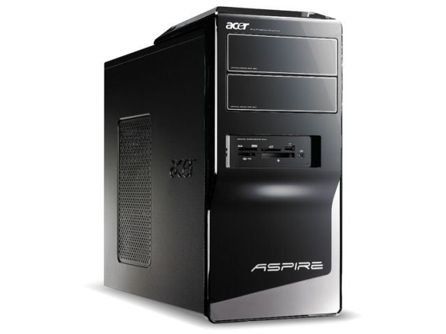 Компьютер бу Acer Aspire N5201 AMD 9750 Quad-Core-2.4 ггц/DDR3- 4GB/HDD 600GB/Radeon 4800-512MB/DVD-RW