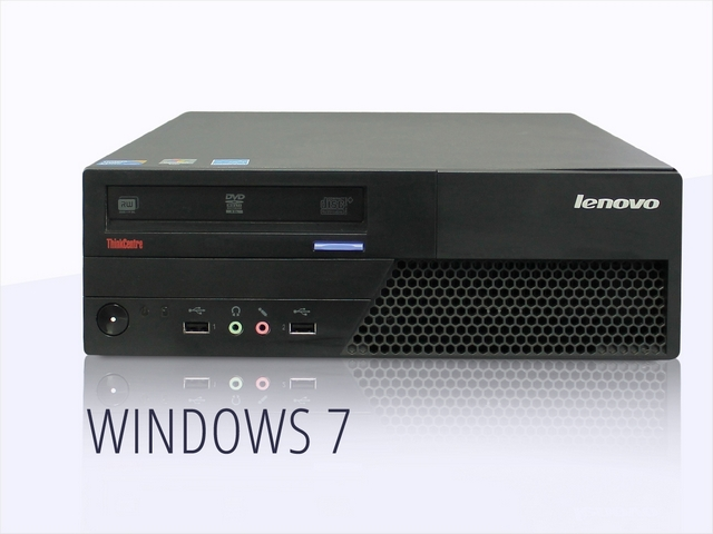 Компьютер бу mini Lenovo Think Centre M58 Core 2 Duo E5400-2,7Ггц/DDR3-2GB