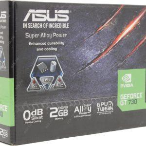 Новая игровая видеокарта ASUS Geforce GT 730 2 Гб