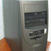 Компьютер игровой бу JTT ADAX Bravo/4 ядра/3 Гб/HDD 250 Гб/Видеокарта GForce 9600-512 Мб