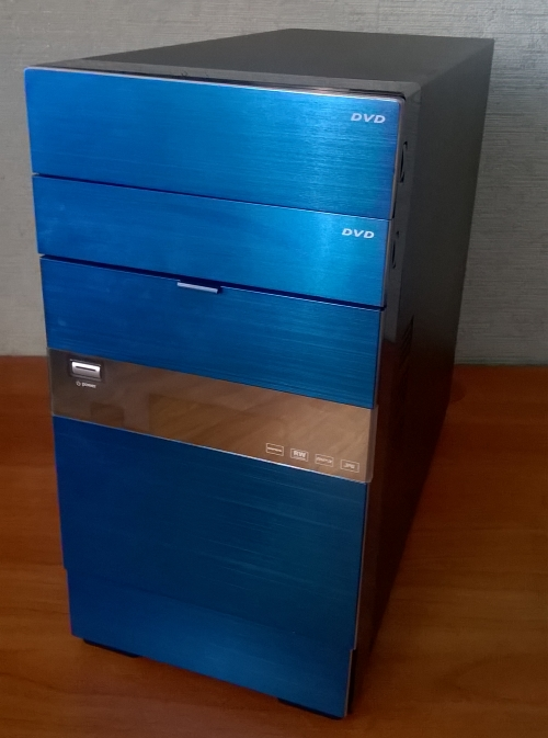 Игровой компьютер бу Синий