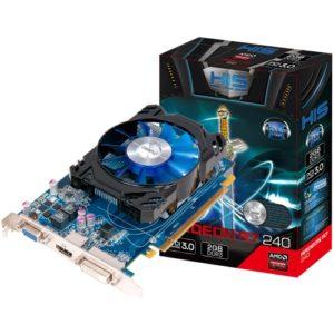 Новая игровая видеокарта HIS Radeon R7 240 iCooler 2 Гб