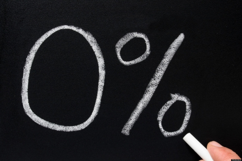 Кредит ноль процентов