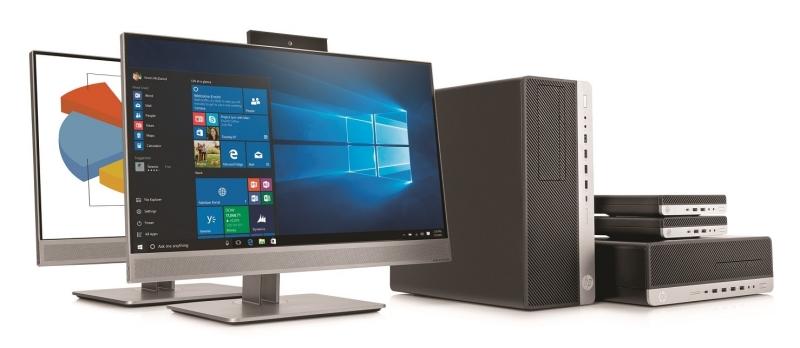 Десктопный компьютер HP