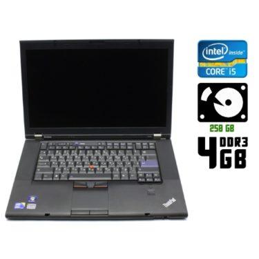 Ноутбук бу Lenovo ThinkPad T510i