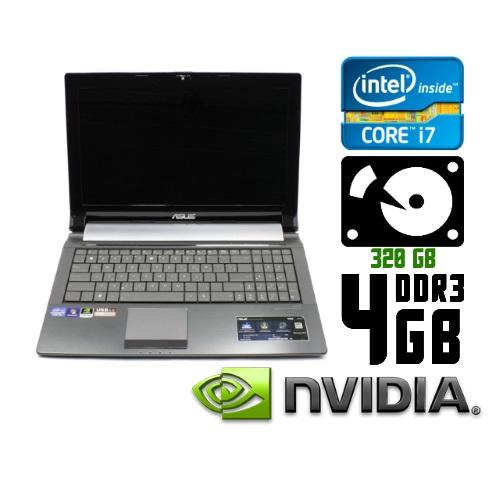 Ноутбук бу Asus N53S