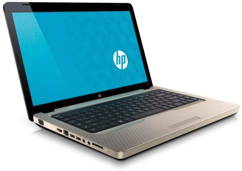 Фото ноутбука производства HP