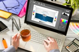 Работа с графикой на ноутбуке