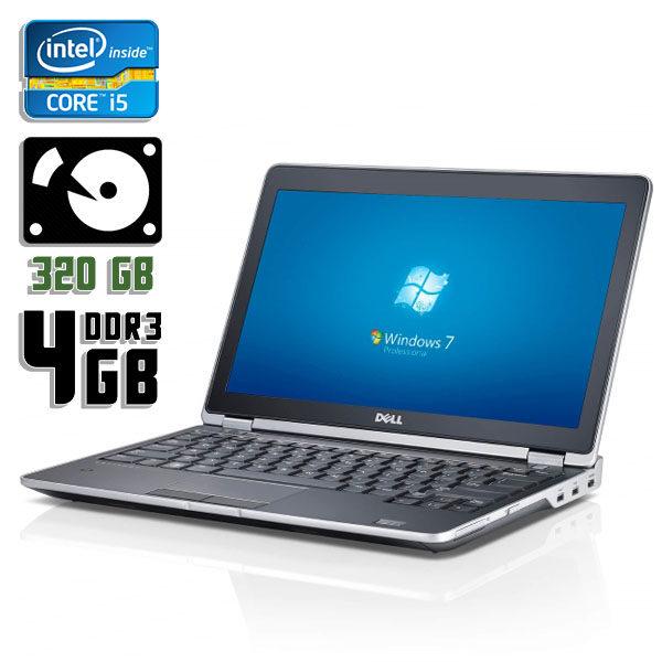 Ноутбук бу Dell Latitude E6220