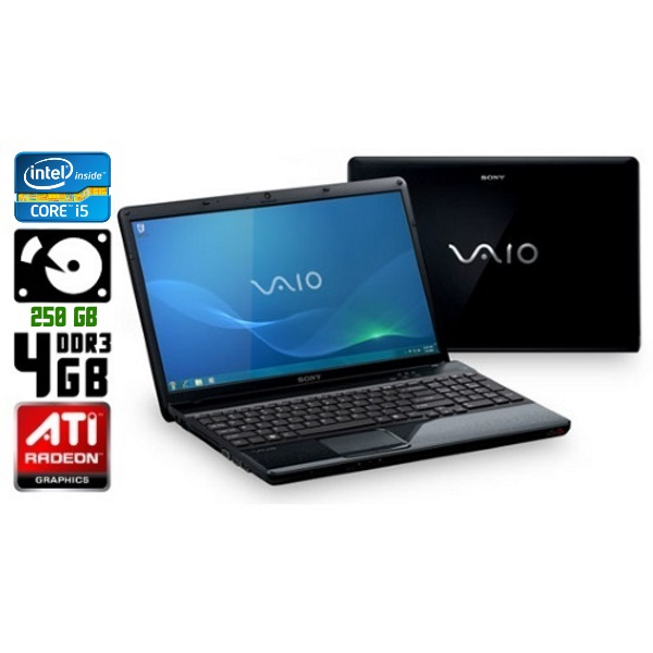 Ноутбук бу Sony VAIO VPC-EB