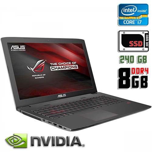 """Игровой ноутбук бу 15,6"""" Asus ROG GL552V"""