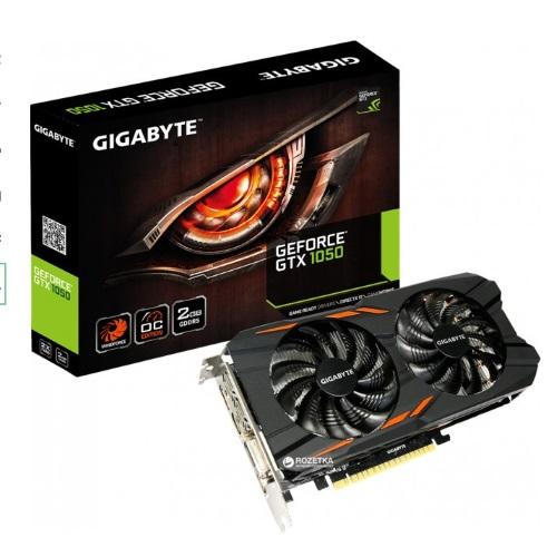 Видеокарта бу Gigabyte Geforce GTX 1050