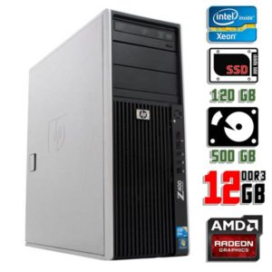 Компьютер бу HP Workstation Z400