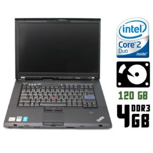 Ноутбук бу Lenovo ThinkPad T500