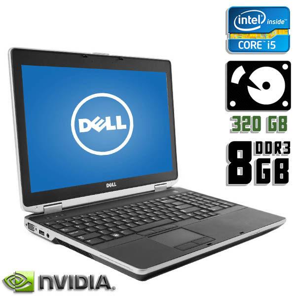 Ноутбук бу Dell Latitude E6530