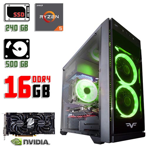 Новый Компьютер Frime Grandmaster Green