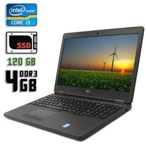 Ноутбук бу Dell Latitude E5550