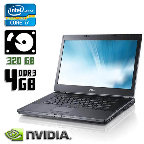 Ноутбук бу Dell Latitude E6510