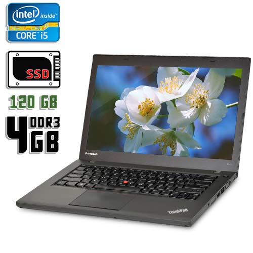 "Ноутбук б/у 14.1"" Lenovo ThinkPad T440"
