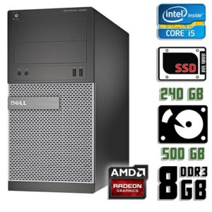 Игровой компьютер бу Dell Optiplex 3020