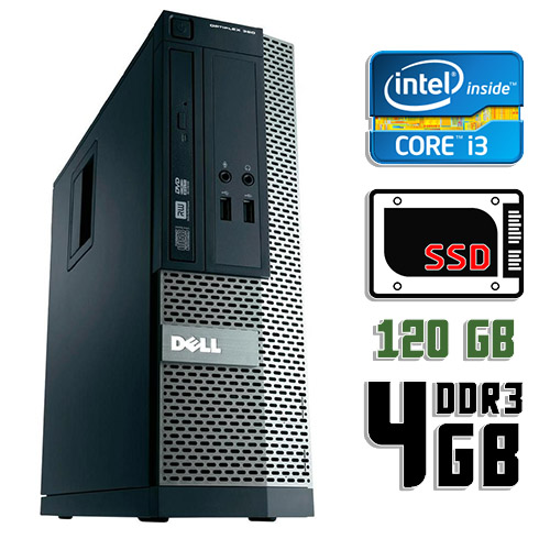 Компьютер бу Dell Optiplex 390 SFF
