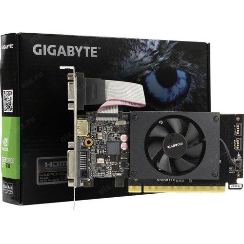 Игровая видеокарта Gigabyte GeForce GT 710