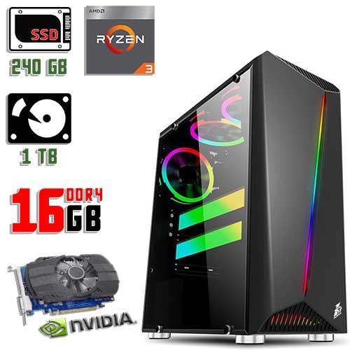 Игровой компьютер 1stPlayer Rainbow Color LED